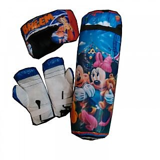 boxing kit (gloves punching bag n head gaurd)