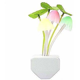 SK1 Multicolor Plastic Automatic Sensor LED Changing Wall Light 1 Night Lamp