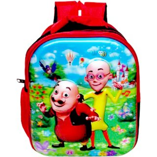 Buy Motu Patlu Kids Cartoon Nursery School Bag Backpack For Picnic