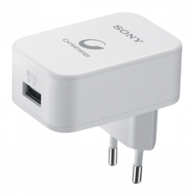 Sony CP AD2 Portable Smartphone Charger 2.1A With EC 450 Data Cable