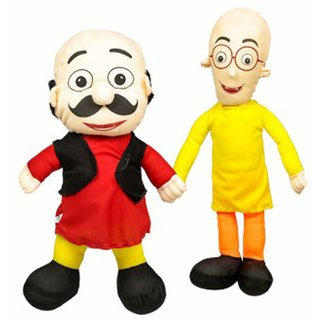 CIPS Motu Patlu 2 PC Large (50 cm and 65 cm) Teddy Bear Plush Toy Soft Toys Kid Child Birthday Gift
