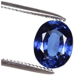 Ceylon Sapphire 13.9 Ratti Natural Blue Sapphire (Neelam) Best Quality IGL Certified