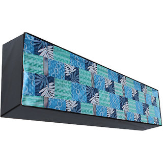 Dream Care Waterproof Multicolor Printed AC Cover for 1 Ton Split IN Unit Product Dimension  (LxWxH)::(23 cm (9 inch) x 89 cm (35 inch) x 28 cm(11 inch))