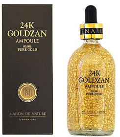 24k Goldzan  Ampoule  99.99   Gold Face Serum