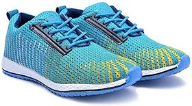 OORA Sports Shoes For Men Blue multi Color office Party Wear Men's Laced Running Casual Shoes