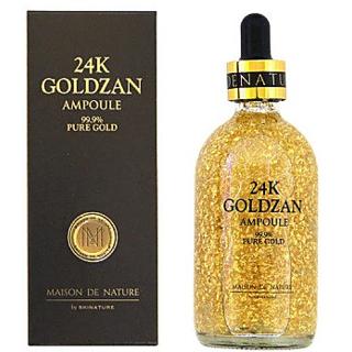 24k Goldzan  Ampoule  99.99   Gold Face Serum
