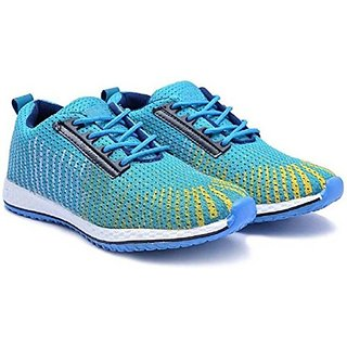Buy Oora Sports Shoes For Men Blue Multi Color Office Party Wear