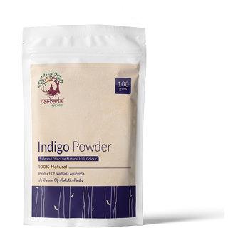 Narbada Ayurveda Natural Indigo powder 100 gms. Pack