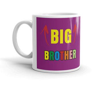 FS Rakhsabandhan Gift Birthday Big Brother White Coffee Mug 320ml Rakshabandhan For