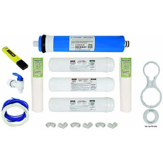 Xisom 17 pcs Service Repair RO Water Purifier parts Kit containing 1 pc each In Pic