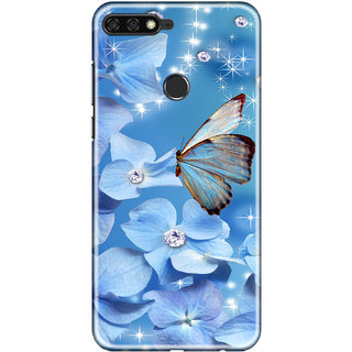 huge discount f6324 461b8 Hupshy Honor 7C Cover / Honor 7C Back Cover / Honor 7C Designer Printed  Back Case Covers