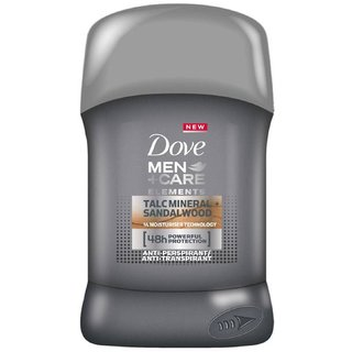 Dove Men+Care Anti-perspirant Talcmineral + Sandalwood - 50ml