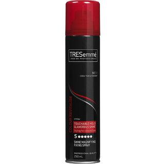 TRESemme Colour Revitalise Touchable Hold Glamorous Shine Spray - 250ml