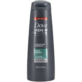 Dove Men+Care Fortifying Shampoo Aqua Impact - 355ml (12oz)