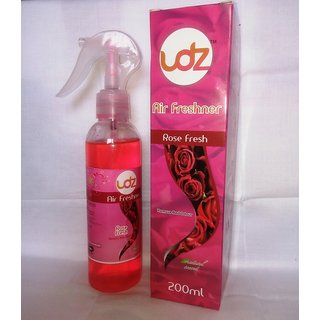 Rose Air Fresheners Spray For Car  Room