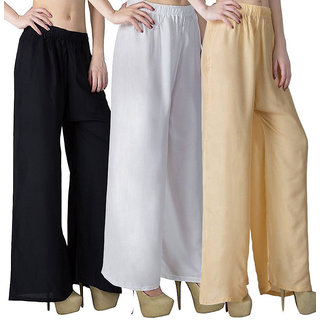 Causal  Daily wear  Combo colour of palazzo pant and trousers on 360
