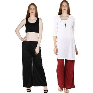 Palazzo combo pack for women