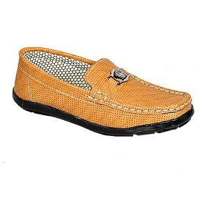 Tan Loafer For Kids