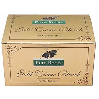 pure roots gold creme bleach 42 gm set of 2