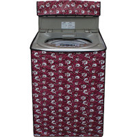 Glassiano Washing Machine Cover For Samsung WA62K4000HD Fully Automatic Top Load 6.2 Kg S 45