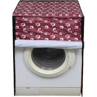 Glassiano Washing Machine Cover For BPL BFAFL65WX1 Fully Automatic Front Load 6.5 Kg  S 45