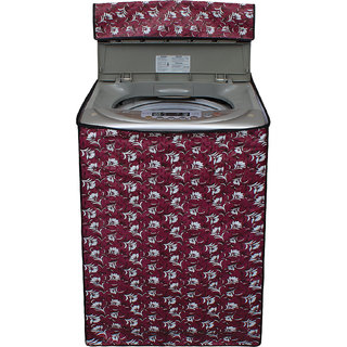 Glassiano Washing Machine Cover For LG T7208TDDLL Fully Automatic Top Load 6.2 Kg S 45