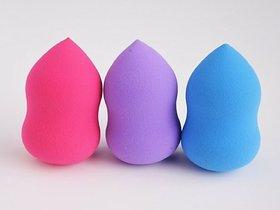 Pro Beauty Multifunctional Makeup Sponge Blender Puff  pack of 3