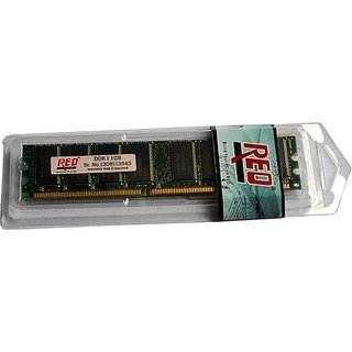 Reo 1GB DDR Ram Pc3200 184-Pin Dimm (Desktop Ram 3 Yr Warranty 100 Original Chipset)