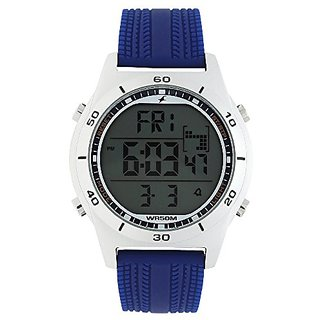 Fastrack Digital Grey Dial Mens Watch-38033SP02