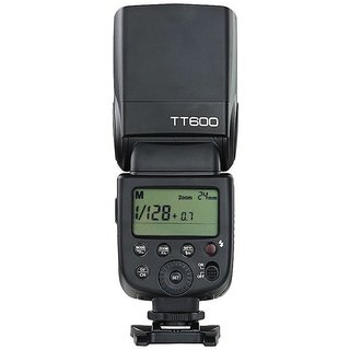 Godox TT600 Manual Speedlite Flash with Built-in 2.4GHz Godox X Series Radio Transceivers for All Digital Cameras with S