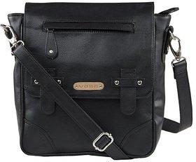 VASA Unisex Travel Bag/Sling Bag/Office bag in Black color