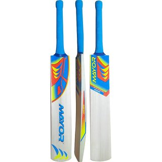 Mayor Poplar Willow Cricket Bat For Use During Gully Games And Casual Games.