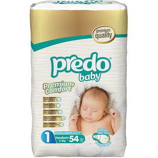 Predo Baby NEWBORN Advantage Pack - 2-5 Kg 54 Pcs