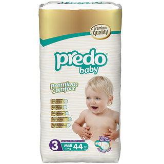 Predo Baby MIDI Advantage Pack - 4-9 Kg 44 Pcs