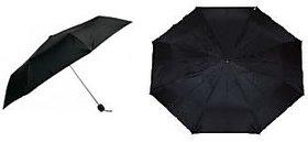 2 Fold Black Nylon Cloth Umbrella - Set of 2