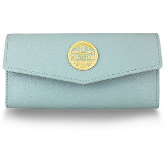 Wallets Clutches Purse For Women Pretleen Pastel Blue All Occasions Wallets