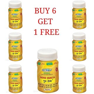 Good Health -Set of 6 (50 Capsules each) (By Dr. Biswas)