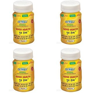 Good Health -Set of 4 (50 Capsules each) (By Dr. Biswas)