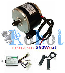 MY1016 250W Motor Controller And Twist Throttle DIY Electric Bicycle Kit robotonlinestore