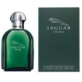 Jaguar Classic Green Edt - 100 Ml (For Men)