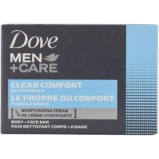 Dove Men+Care Body and Face Bar Clean Comfort Mild Formul - 113g (4oz)