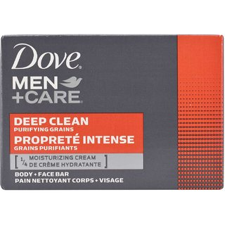 Dove Men+Care Body and Face Bar Deep Clean Purifying Grains - 113g (4oz)