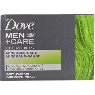 Dove Men+Care Body and Face Bar Elements Minerals+Sage - 113g (4oz)