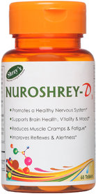 Shrey's Nuroshrey-D3 For Neurological Health (Methylcob