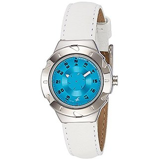 Fastrack Analog Blue Dial Womens Watch-6157SL02