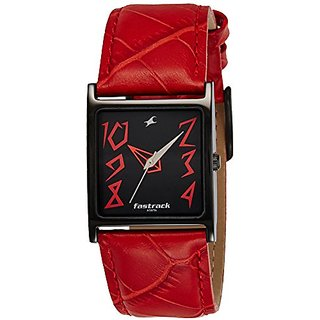 Fastrack Analog Black Dial Womens Watch-NG9735NL01