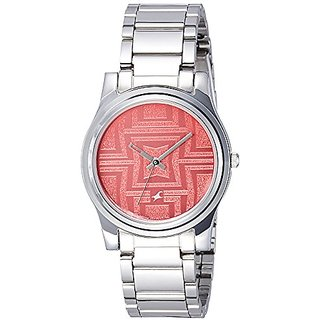 93cb3ff82 Buy Fastrack Analog Pink Dial Womens Watch-6046SM02 Online   ₹2025 ...