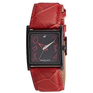 Fastrack Analog Black Dial Womens Watch - NB9735NL01