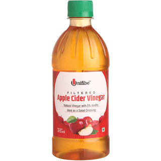 Unifibe Filtered Apple Cider Vinegar  473 ml