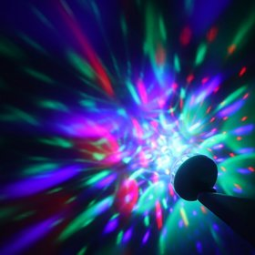 3W USB Powered Mini Laser LED Ball Party DJ for Android USB Interface Device